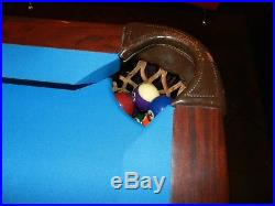 Brunswick Ventura II Billiard Professional Pool Table 9 Foot Excellent Cond