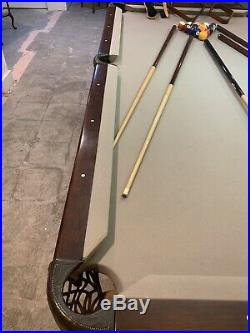 Brunswick Ventura II pool table used