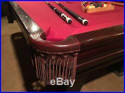 Brunswick Ventura billiard pool table 8 ft