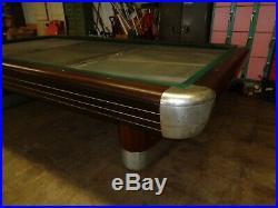 Brunswick Vintage Anniversary Billiard Table Pocketless CAROM 5 x 10