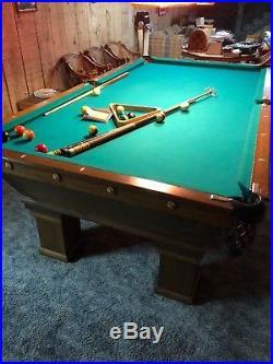 Brunswick Wellington Monarch Cushion Pool Table ++ Accessories