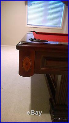 Brunswick Windsor 9' Pool Table Set