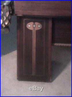 Brunswick antique billard table