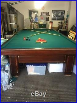 Brunswick-balke-collender Co. Snooker Table, Rare, Excellent Condition
