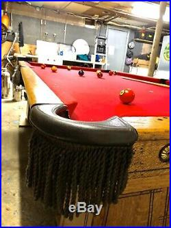 Brunswick balke collender Regal pool table