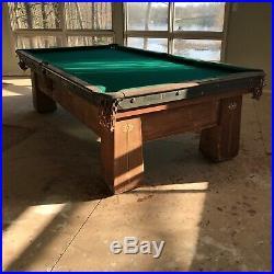Brunswick balke collender pool table