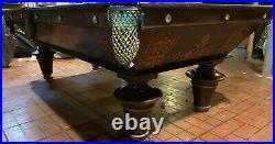 Brunswick balke collender popular Model Pool Table