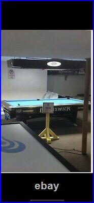Brunswick gold crown II-V (2-5) 9pool table Light Non Shadowing Mint Cond