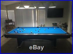 Brunswick gold crown pool table 9 feet