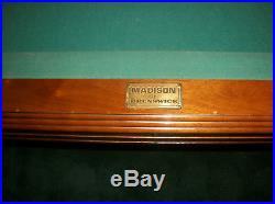 Brunswick madison pool table 4 x 8 surface