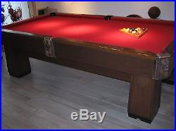 Brunswick pool table(local pick up only in Dallas Texas)