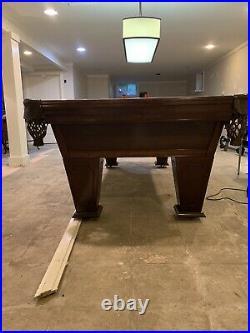 Brunswick pool table used 8 Foot