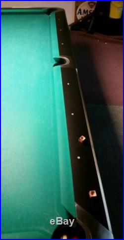 Bruswick Gold Crown V. 5. Pool Table 8.5ft