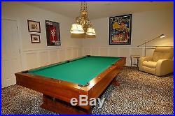 Bruswick mission pool table