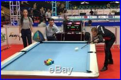 CPBA Competition Pro worsted Pool cloth High speed, Accuracy, Pre-cut rails