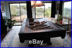 CUSTOM POOL TABLE ALL ACCESSORIES