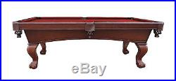 Carmelli Westport 8' Antique Walnut Slate Pool Table FREE SHIPPING & FREE COVER