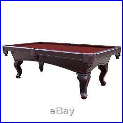 Championship Saturn II Billiards Cloth Pool Table Felt Burgundy 7 Feet