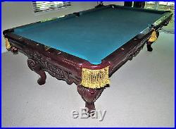 Charles A. Porter Renaissance CAROM tableCustom MadeExcellent Condition