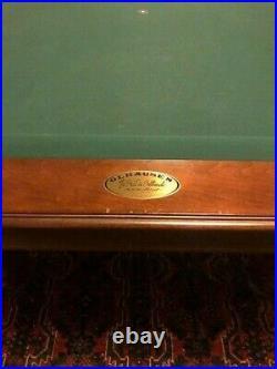 Classic Signature Series Olhausen Santa Ana Pool Table 8 ft
