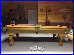 Connelly Pool Table 8' Slate With Billiard Accessories
