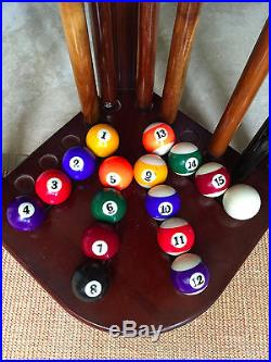 Connelly Pool Table with Accessories and Dart Board