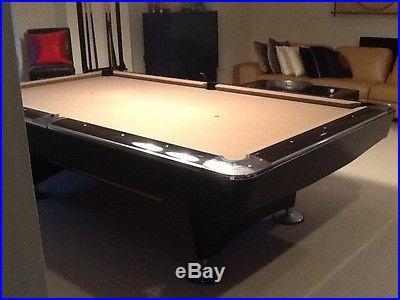 Contemporary Brunswick Custom Pool Table