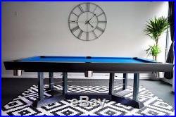 Contemporary Silver Dime BRAND NEW Pool Table Billiard Table