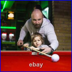 Costway 48'' Mini Table Top Pool Table Game Billiard Set Cues Balls Gift Indoor