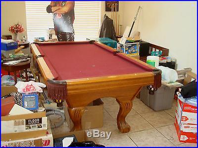 Custom Leisure World 7FT Billiards Pool Table