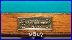 Custom Made Vintage Pool Table The Brunswick-Balke-Collender Co Year around 1900