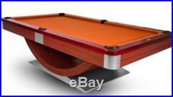 Custom Modern Pool Table 8' or 9