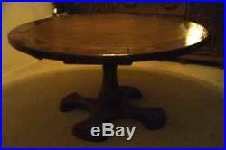 Custom Octagon convertible poker/dining table