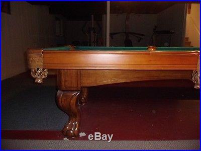 Custom Slate 8ft pool table