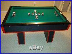 Custom Slate Steepleton Bumper Pool Table