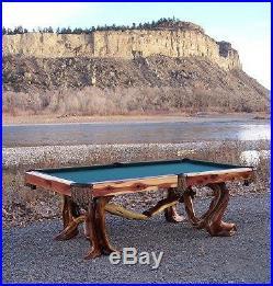 Custom log pool tables