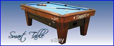 DIAMOND POOL TABLE SMART 7 FOOT BRAND NEW ROSEWOOD SIMONIS CLOTH