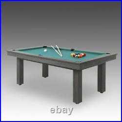 Delta American 6' Pool Table Diner Dining (made in France with slate bed)