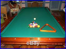 Deluxe 8 foot Olhausen pool table
