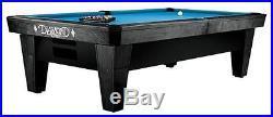 Diamond Billiards 7' Pro-Am Dymondwood Charcoal Ball Return Style Pool Table