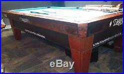 Diamond Billiards 9' Pro-Am Dymondwood Rosewood Ball Return Style Pool Table