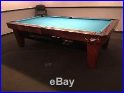Diamond Billiards Pool Table Custom Cues 4.5 X 9 Foot Pro Cut Tight Pocket