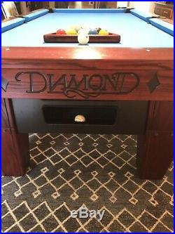 Diamond Billiards Pro/Am 7 Foot Table