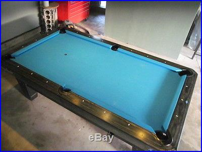 Diamond Pool Table, Blue 2012, 7 ft