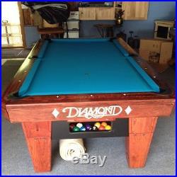 Diamond ProAm 7 Foot Table Ball Return Less Than 1 Year Old
