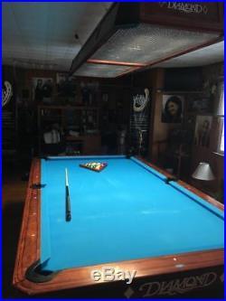 Diamond Pro Am 9 Foot Ball Return Pool Table