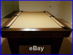Diamond Professional Pool Table Package 8' 1 PIECE SLATE, BALL RETURN