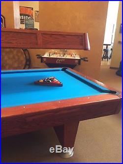 Diamond professional pool table