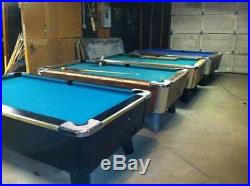 Dynamo And Valley Coin-operated Pool Tables