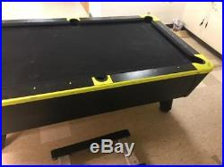Dynamo Black Light Coin-operated Pool Table